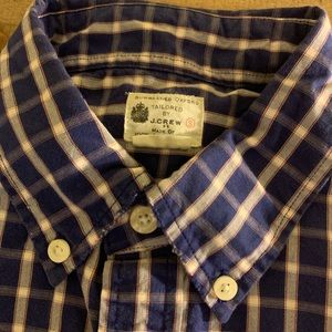 Men's Small J.Crew Factory Button-up - Sept. '13
